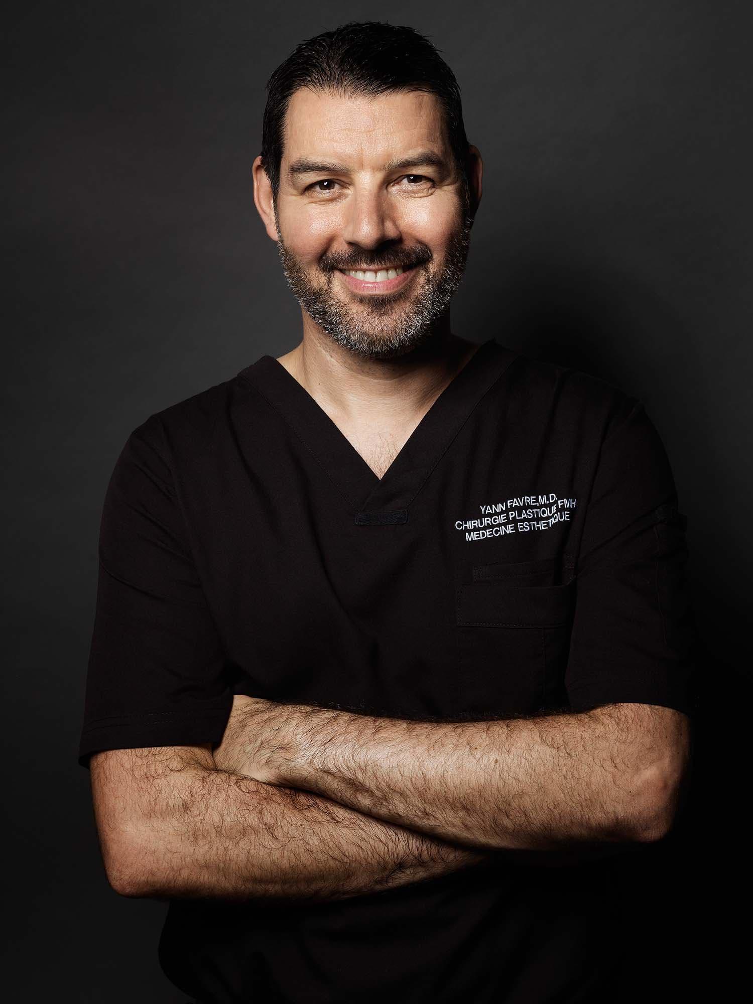 Portrait Dr. méd. Yann Favre